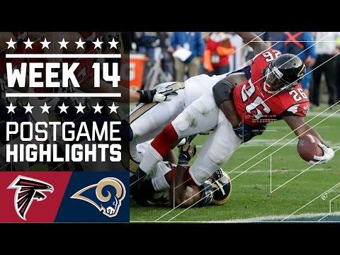 Falcons Vs Rams Nfl Week 14 Game Highlights