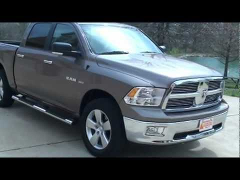2012 Dodge Ram 1500 For Sale >> 2009 DODGE RAM 1500 CREW CAB 4X4 BIG HORN EDITION FOR SALE SEE WWW SUNSETMILAN COM - YouTube