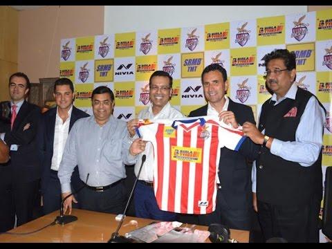Atletico de Kolkata unveil new home kit for the ISL 2016 season