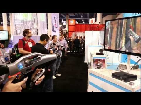 CES 2013 G-mate MAG2 gaming gun controller