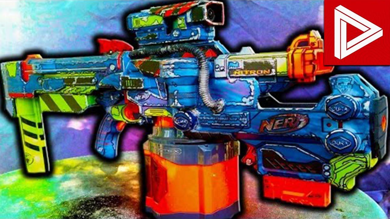 Top 10 best nerf gun mods youtube