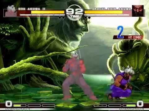 MUGEN : Absolute Power 6 God Akuma II vs Orochi Shin Akuma