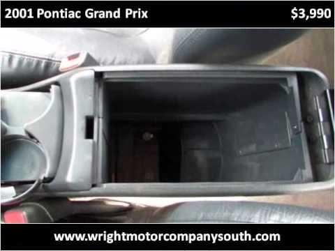 2001 Pontiac Grand Prix Used Cars Danville IL