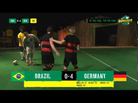 Brazil 1-7 Germany Full Highlights #NoRulesCup