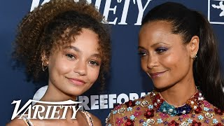 Thandie Newton and Nico Parker on Representation in Disney Movies