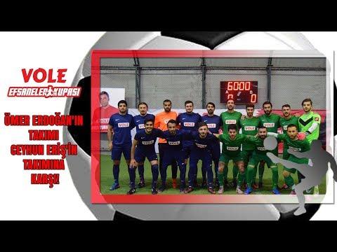 Vole Efsaneler Kupası   Ömer Erdoğan'ın takımı - Ceyhun Eriş'in takımına karşı!