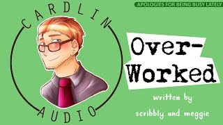ASMR Roleplay: Overworked [Apologies for being distracted by work] [Sleepy]