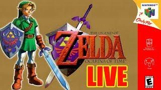 LIVE de Zelda Ocarina of Time #4 - Finalizando Ganondorf! #ForçaRogerz #ForçaEliteClássicos