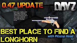 The Best Place to find a LongHorn in DayZ Standalone 0.47 Update