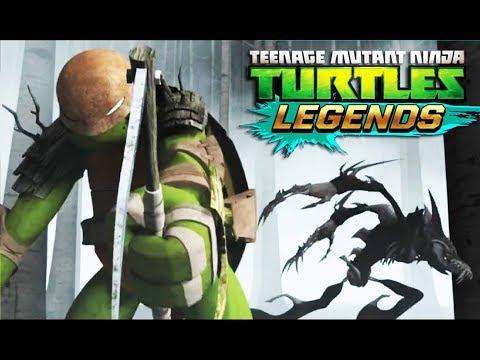 Черепашки ниндзя Легенды СОСТАВЫ ОТ ПОДПИСЧИКОВ качаем МИКЕЛАНДЖЕЛО ВИДЕНИЕ игра TMNT Legends