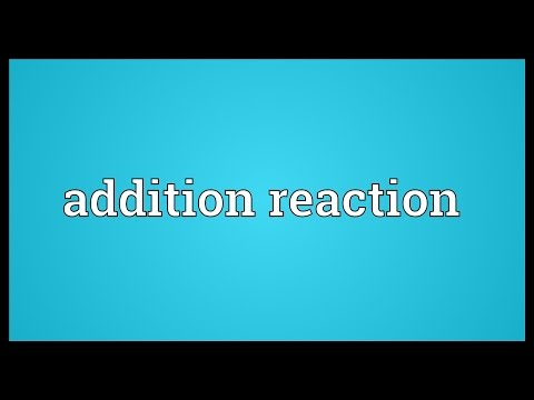 Header of Addition Reaction