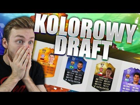 KOLOROWY DRAFT! | FIFA 16 UT