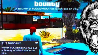 GTA 5 Modded Lobbies - GTA 5 Online Million Dollars Bounty (GTA V)