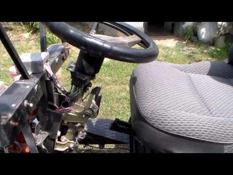 Мотоблок с передним рулевым управлением своими руками
