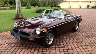 1980 MG MGB Roadster for sale by Auto Haus of Naples AutoHausFL.com