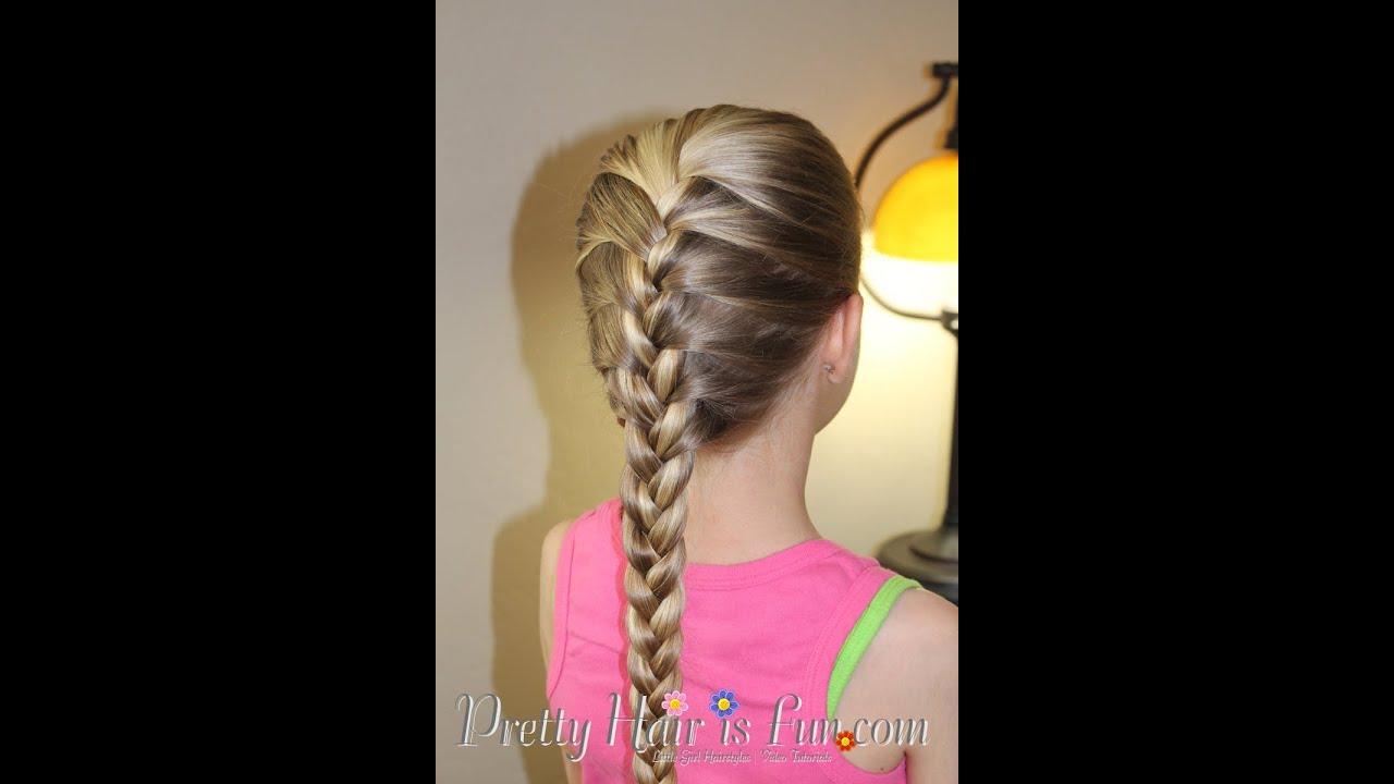 How to do a French Braid Tutorial Pretty Hair is Fun - Braiding Hairstyles For 10 Year Olds