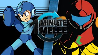 One Minute Melee - Samus Aran vs Mega Man (Nintendo vs Capcom)