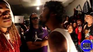 Cocky vs CB | rap battle | AHAT | Stockton vs San Bernardino