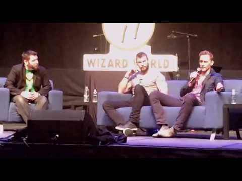 Chris Hemsworth and Tom Hiddleston @ Wizard World Philadelphia 2016