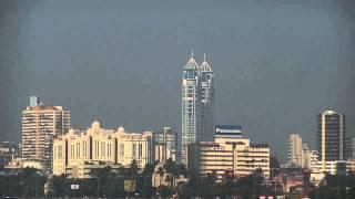 Marine Drive Beautiful View And The Mumbai Skyscrapers