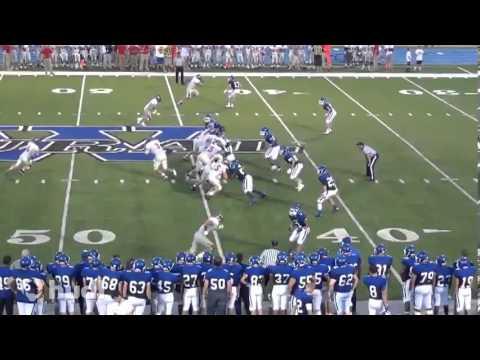 Mike Fairchild Senior Year - OT/DT #78 - Blue Valley West High School - Mizzou Commit