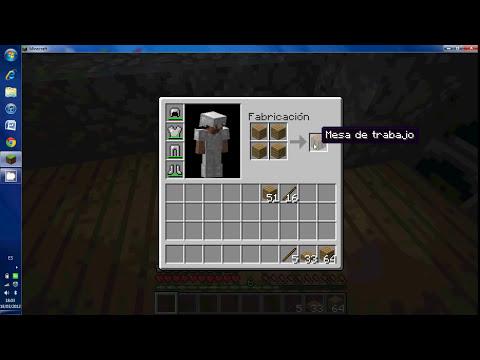 como hacer cosas de madera en minecraft