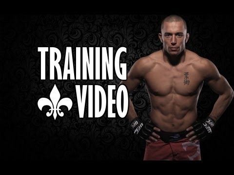 George st. Pierre | TRAINING VIDEO | HD 1080p | Image 1