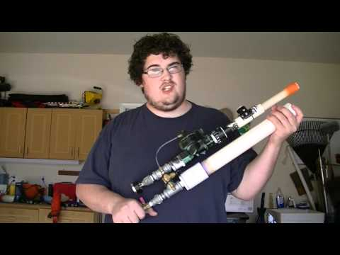 How to: build a fully automatic PVC paintball gun - part 8: test fire
