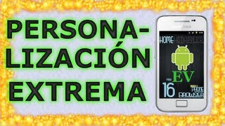Personalización extrema Android #7 SSLauncher | Android Evolution