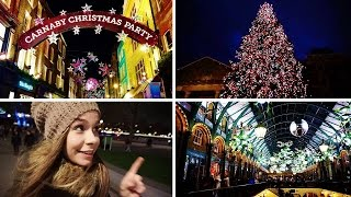 London Christmas Lights!  - Carnaby Street, South Bank & More