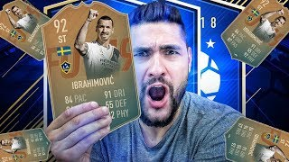 BEST POSSIBLE SBC IN FIFA 19 - FLASHBACK ZLATAN IBRAHIMOVIC DONE CHEAP + PLAYER REVIEW !!!