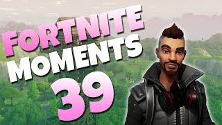 FIRST EVER JUMP PAD NO SCOPE! (SO LUCKY) | Fortnite Daily Funny and WTF Moments Ep. 39