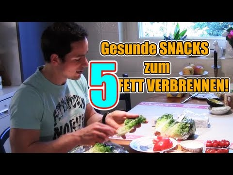 Einfache Fettverbrennungs-Snacks! Kolja bereitet leckere snacks zum fett verbrennen zu
