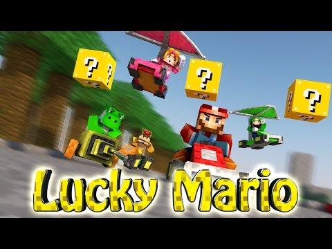Minecraft | LUCKY BLOCK BOSS CHALLENGE - Mario Mod! (Mario, Yoshi, Bowser)