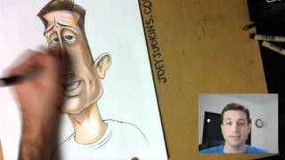 Caricature (and Animation) of WoodysGamertag by Joey Judkins