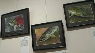 釣人と鱒族 in ギャラリー伊達