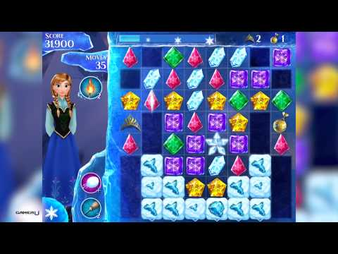 [FROZEN FREE FALL] HOW TO PASS LEVEL 185