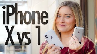 iPhone X vs First iPhone!