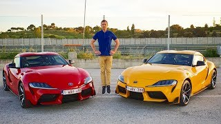 Toyota Supra and Mercedes EQC 2020 - a mad weekend filming reviews of two exciting new cars
