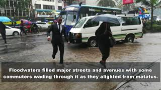 Heavy rains flood Kenya's capital Nairobi