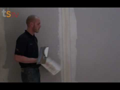 Tommy's Trade Secrets - How To Tape And Joint A Plasterboard Wall