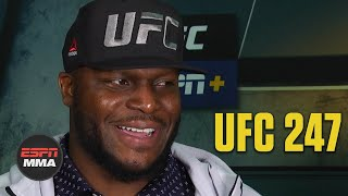 Derrick Lewis reflects on win vs. Ilir Latifi and his usage of high knees | UFC 247 | ESPN MMA