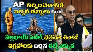 MP Galla Jayadev : AP Got Less Funds Than Money Spent On Making Statues