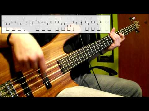 Stevie Wonder - Master Blaster (Jammin') (Bass Cover) (Play Along Tabs In Video)