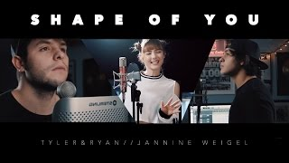 Download Lagu Ed Sheeran - Shape Of You (Tyler & Ryan ft. Jannine Weigel) Gratis STAFABAND