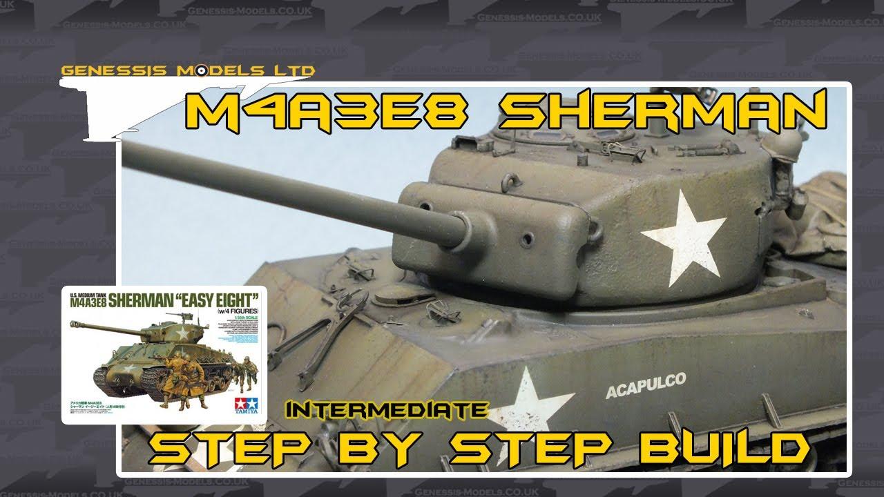 Tamiya M4a3e8 Sherman Tamiya M4a3e8 Sherman 1/35