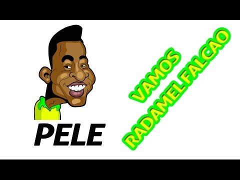 Rey Pele Se Solidariza con Falcao Garcia por Lesion
