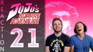 SOS Bros React - JoJo's Bizarre Adventure Episode 21 - Lisa Lisa the BADASS!!