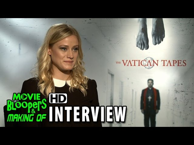 The Vatican Tapes (2015) Official Movie Interview - Olivia Taylor Dudley