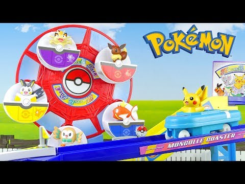 Pokemon Theme Park Toys